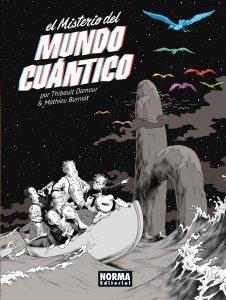 """""""El Misterio del Mundo Cuántico"""" portada"""