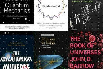 Algunos libros sobre Mecánica Cuántica y Cosmología